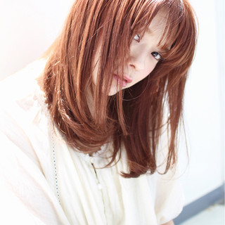 波ウェーブ 外ハネ ピュア ストリート ヘアスタイルや髪型の写真・画像