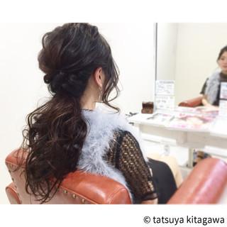 アッシュ 外国人風 ゆるふわ 花嫁 ヘアスタイルや髪型の写真・画像
