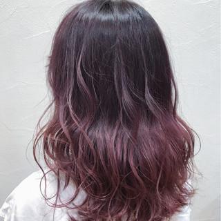 ハイライト 透明感 セミロング ストリート ヘアスタイルや髪型の写真・画像 ヘアスタイルや髪型の写真・画像