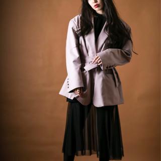 透明感カラー ナチュラル 黒髪 大人ロング ヘアスタイルや髪型の写真・画像 ヘアスタイルや髪型の写真・画像