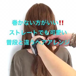 謝恩会 ヘアアレンジ フェミニン ロング ヘアスタイルや髪型の写真・画像 ヘアスタイルや髪型の写真・画像