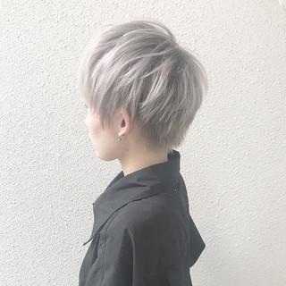 外国人風 ブリーチ ハイトーン ダブルカラー ヘアスタイルや髪型の写真・画像