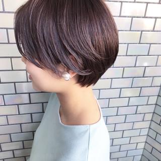 ショート ベリーショート デート ショートヘア ヘアスタイルや髪型の写真・画像