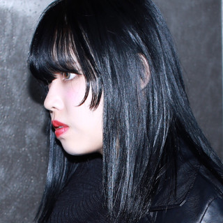 暗髪 黒髪 ストリート 外国人風 ヘアスタイルや髪型の写真・画像