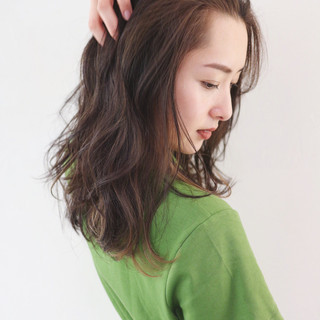 バレイヤージュ 外国人風カラー グラデーションカラー インナーカラー ヘアスタイルや髪型の写真・画像