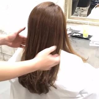 ショート セミロング くるりんぱ ヘアアレンジ ヘアスタイルや髪型の写真・画像