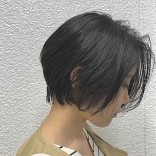 黒髪 ナチュラル デート 前下がりボブ ヘアスタイルや髪型の写真・画像 ヘアスタイルや髪型の写真・画像