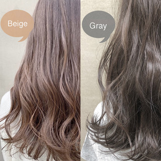ミニボブ インナーカラー ウルフカット セミロング ヘアスタイルや髪型の写真・画像