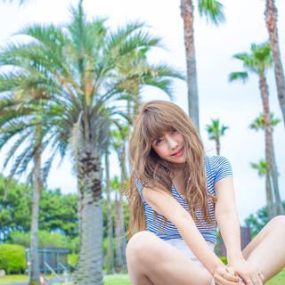 リゾート気分は髪で味わえ♡リゾート系ヘアアレンジ特集!