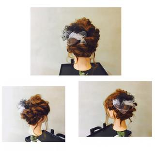 前髪あり 大人かわいい ショート 簡単ヘアアレンジ ヘアスタイルや髪型の写真・画像 ヘアスタイルや髪型の写真・画像