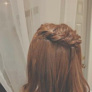 ロング フェミニン 大人かわいい ゆるふわ ヘアスタイルや髪型の写真・画像