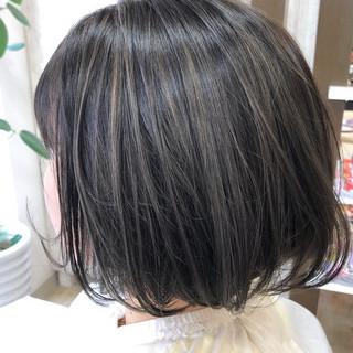 透明感カラー ブリーチカラー ナチュラル イルミナカラー ヘアスタイルや髪型の写真・画像