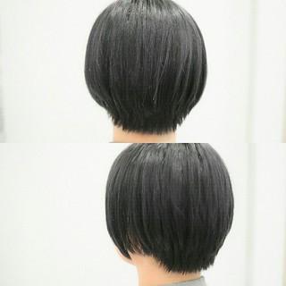 グレージュ こなれ感 前髪あり 小顔 ヘアスタイルや髪型の写真・画像