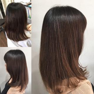 髪質改善カラー 髪質改善トリートメント ロング 髪質改善 ヘアスタイルや髪型の写真・画像