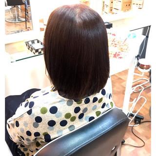 ピンクベージュ ピンク 春ヘア ボブ ヘアスタイルや髪型の写真・画像