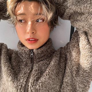 PEEK-A-BOO ハイライト ハンサムショート 阿藤俊也 ヘアスタイルや髪型の写真・画像