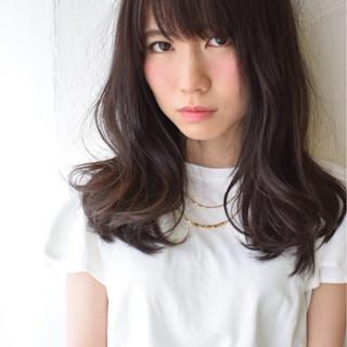 色気 コンサバ モテ髪 黒髪 ヘアスタイルや髪型の写真・画像