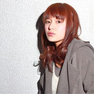 透明感 セミロング イルミナカラー 外国人風カラー ヘアスタイルや髪型の写真・画像