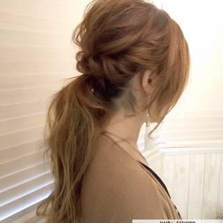 簡単ヘアアレンジ ヘアアレンジ 愛され ロング ヘアスタイルや髪型の写真・画像
