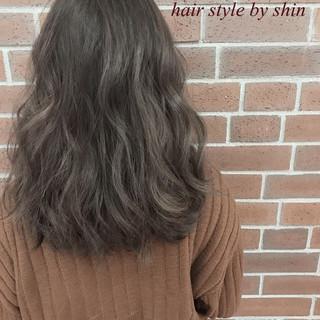 ボブ ナチュラル グラデーションカラー 外国人風 ヘアスタイルや髪型の写真・画像