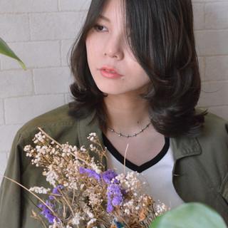 ナチュラル ミディアム 髪質改善カラー デート ヘアスタイルや髪型の写真・画像