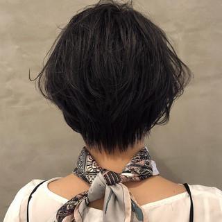 ショートボブ ベリーショート 大人かわいい ショート ヘアスタイルや髪型の写真・画像