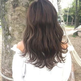 春 外国人風カラー モテ髪 フェミニン ヘアスタイルや髪型の写真・画像