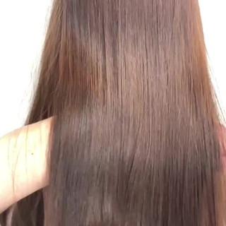 髪質改善トリートメント 髪質改善 髪質改善カラー ナチュラル ヘアスタイルや髪型の写真・画像