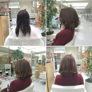 コンサバ デジタルパーマ パーマ 大人女子 ヘアスタイルや髪型の写真・画像