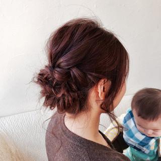 ヘアアレンジ ショート 結婚式 簡単ヘアアレンジ ヘアスタイルや髪型の写真・画像 ヘアスタイルや髪型の写真・画像