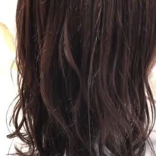 ラベンダー ブルー ナチュラル ラベンダーアッシュ ヘアスタイルや髪型の写真・画像