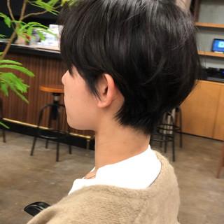 ハンサムショート ショート マニッシュ 大人カジュアル ヘアスタイルや髪型の写真・画像