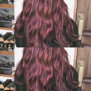 冬 ウェーブ ストリート 秋 ヘアスタイルや髪型の写真・画像
