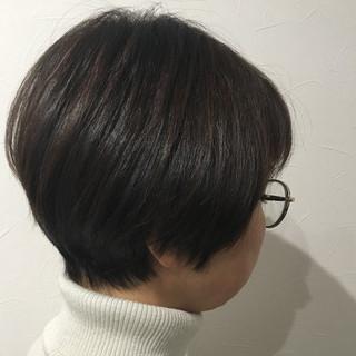 ショート エレガント ショートボブ ミニボブ ヘアスタイルや髪型の写真・画像