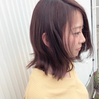 ヘアアレンジ 簡単ヘアアレンジ ミディアム ロブ ヘアスタイルや髪型の写真・画像