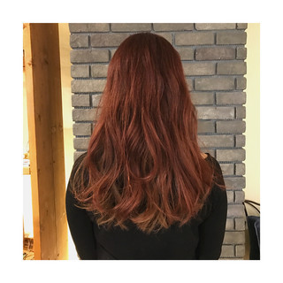 ピンク インナーカラー 外国人風 ストリート ヘアスタイルや髪型の写真・画像