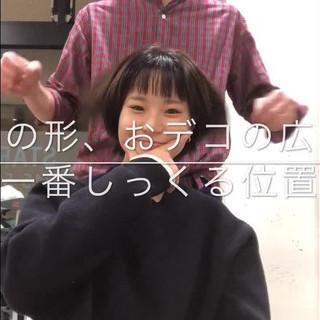 永森コウヤさんのヘアスナップ