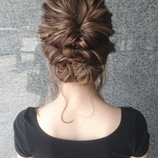 結婚式 ショート 上品 エレガント ヘアスタイルや髪型の写真・画像