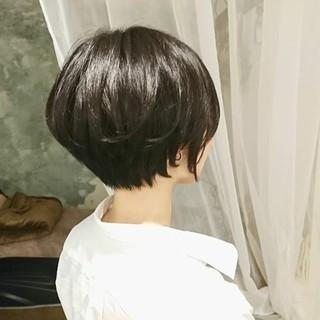 オフィス 色気 大人かわいい 黒髪 ヘアスタイルや髪型の写真・画像