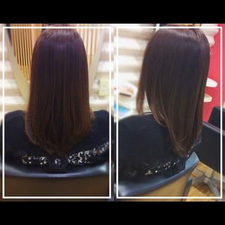 ロング 髪質改善カラー 社会人の味方 ナチュラル ヘアスタイルや髪型の写真・画像 ヘアスタイルや髪型の写真・画像