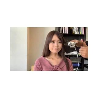 巻き髪 巻き動画 セミロング 簡単スタイリング ヘアスタイルや髪型の写真・画像