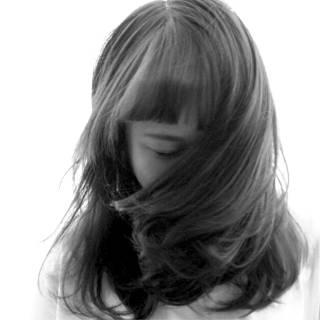モテ髪 ストリート ミディアム ナチュラル ヘアスタイルや髪型の写真・画像