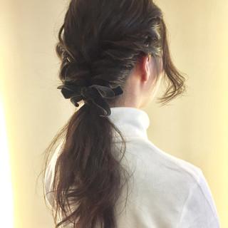 ヘアアレンジ 暗髪 グラデーションカラー アッシュ ヘアスタイルや髪型の写真・画像 ヘアスタイルや髪型の写真・画像