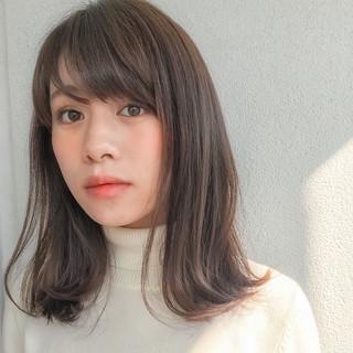 フェミニン 暗髪 色気 ゆるふわ ヘアスタイルや髪型の写真・画像
