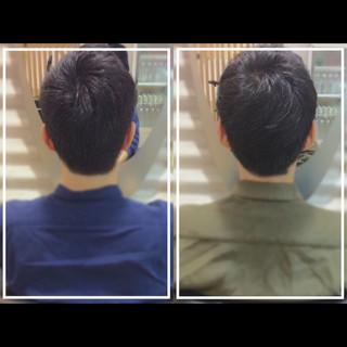 ショートヘア 白髪染め 大人ヘアスタイル ナチュラル ヘアスタイルや髪型の写真・画像