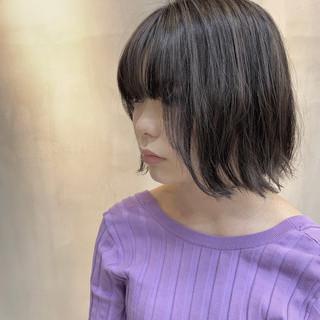 外国人風カラー 透明感カラー ナチュラル ハイライト ヘアスタイルや髪型の写真・画像