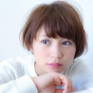 田中美保 マッシュ ショートボブ ショート ヘアスタイルや髪型の写真・画像 ヘアスタイルや髪型の写真・画像