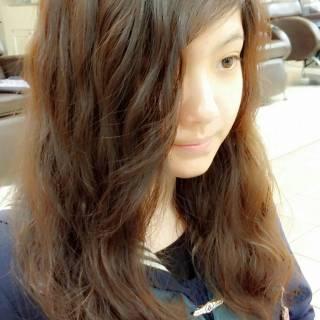 ゆるふわ ガーリー 大人かわいい ロング ヘアスタイルや髪型の写真・画像 ヘアスタイルや髪型の写真・画像