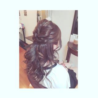 ゆるふわ ねじり 大人かわいい ヘアアレンジ ヘアスタイルや髪型の写真・画像 ヘアスタイルや髪型の写真・画像