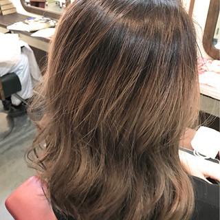色気 ボブ 外国人風 グラデーションカラー ヘアスタイルや髪型の写真・画像